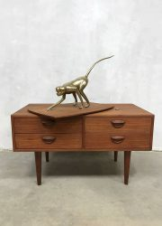mid century modern cabinet tv chest of drawers ladekast Kai Kristiansen
