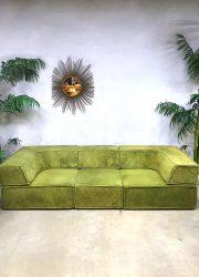 Bohemian style vintage design lounge bank modular sofa Cor