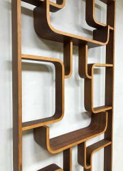 vintage wall unit Czech design Volak Holesov