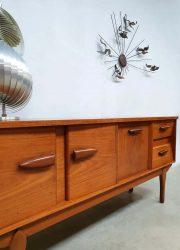 Deens vintage sideboard lowboard dressoir wandkast lowboard Danish Scandinavian style