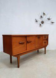 Midcentury modern wandkast dressoir vintage design cabinet low board