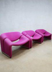 Vintage design Groovy chair fauteuil Pierre Paulin Artifort F598