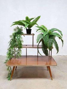 Vintage retro plantentafel jaren 50 plant stand midcentury modern