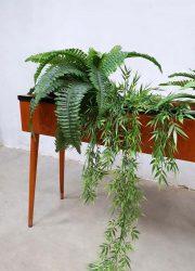 vintage retro planten bak bloemen plant stand Danish Scandinavian design