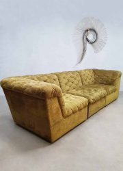 modulaire lounge bank vintage design chesterfield stijl