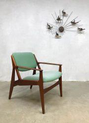 vintage Danish design slung chair lounge fateuil Vamo Arne Vodder Deens