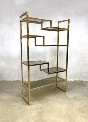 midcentury modern holy wall unit etagere Italian shelving unit Willy Rizzo kast