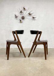 deense eetkamer stoel vintage Scandinavisch design eetkamer stoelen