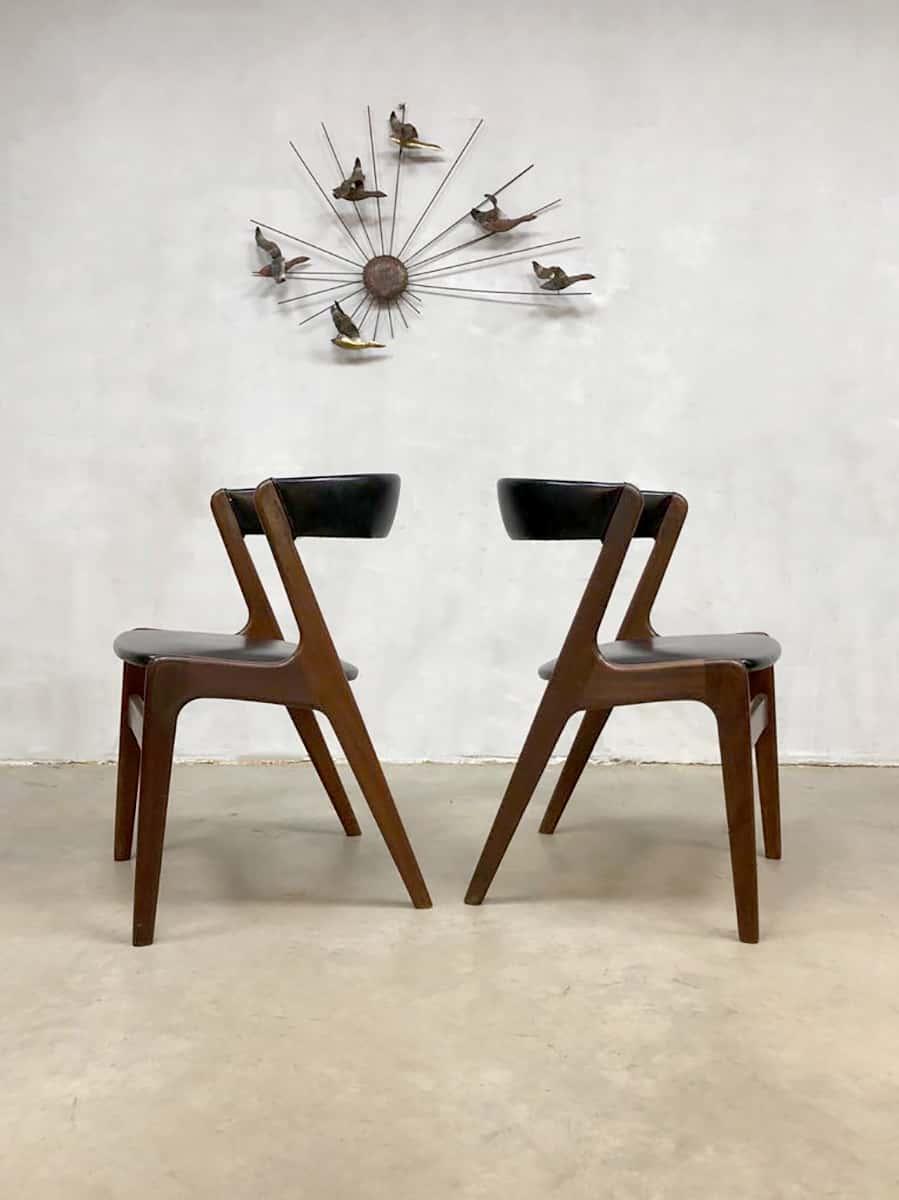 Scandinavisch Design Eetkamerstoelen.Deense Eetkamer Stoel Vintage Scandinavisch Design Eetkamer