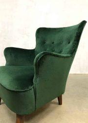 vintage lounge stoel fauteuil retro dutch design cocktail stoel expo chair fifties