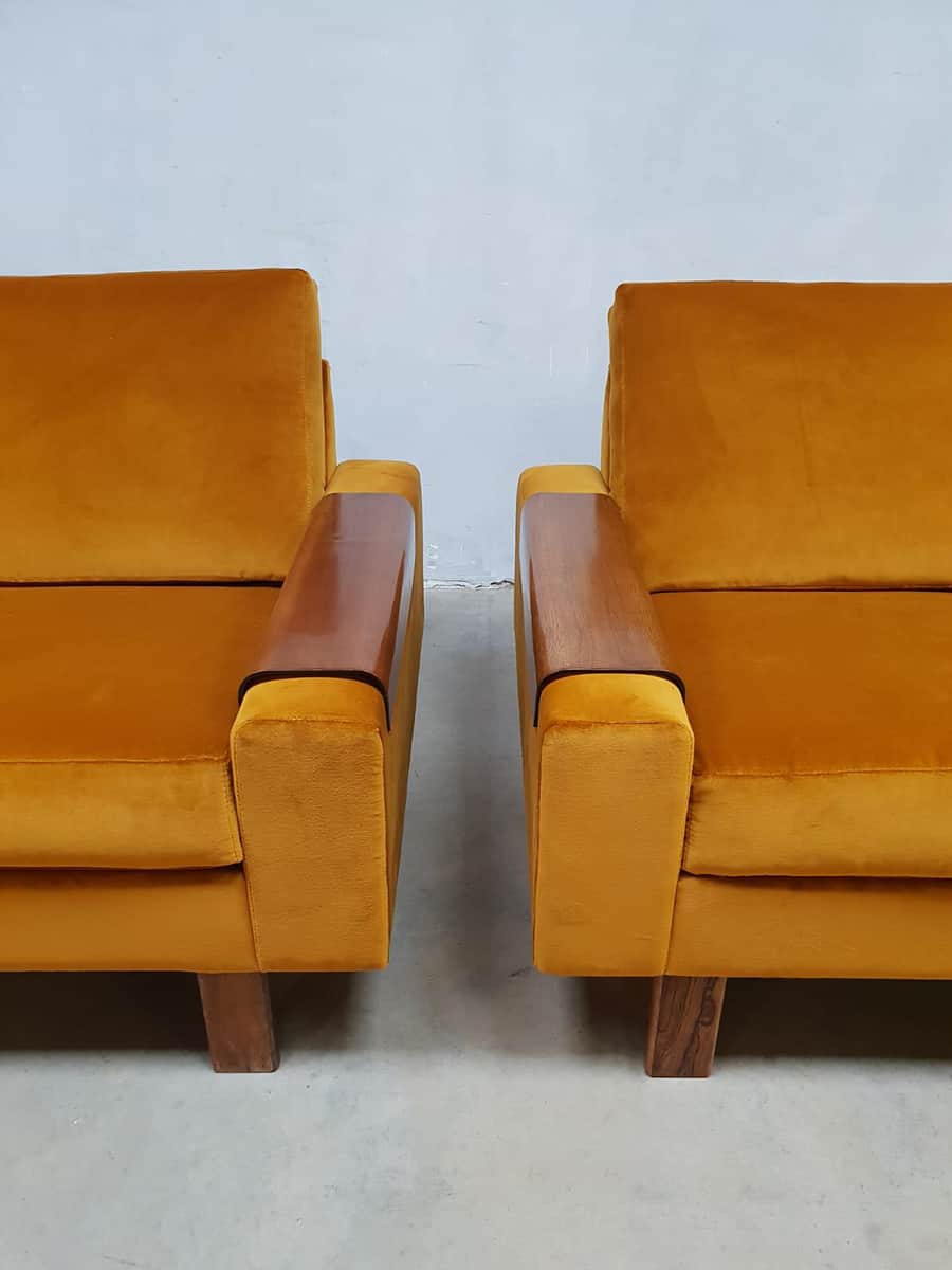 Midcentury Modern Armchairs Vintage Lounge Chairs