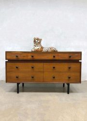 vintage retro ladekast ladenkast tv kast dressoir cabinet chest of drawers Scandinavian Danish style