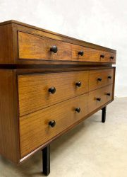 Midcentury modern chest of drawers cabinet vintage ladekast 'minimalism'