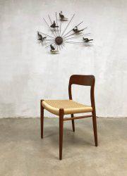 midcentury modern dinner chair Niels O Møller eetkamerstoel