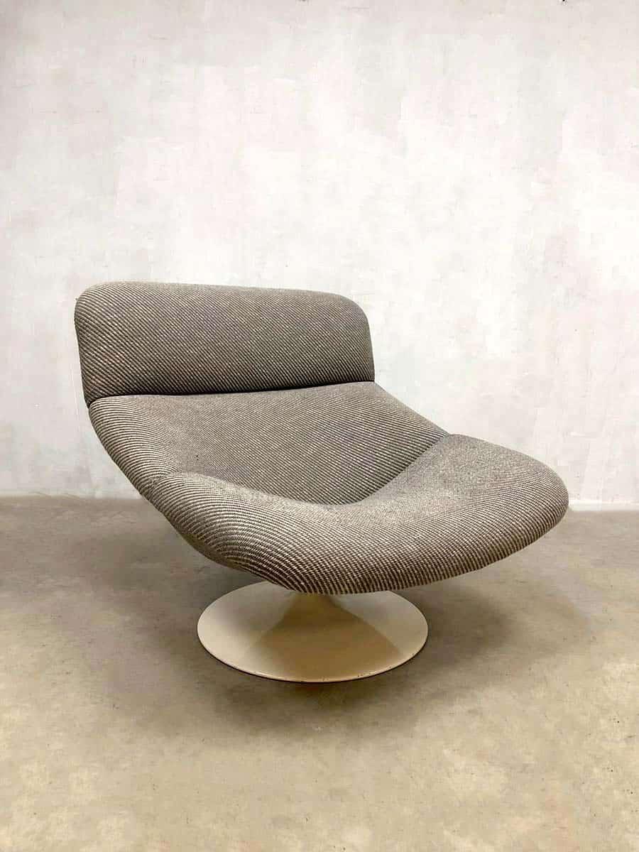Geoffrey Harcourt Voor Artifort Design Fauteuil.Vintage Lounge Chair Geoffrey Harcourt Artifort Lounge Fauteuil F518