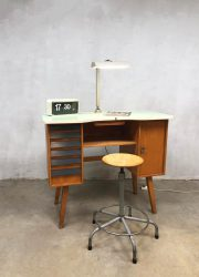 vintage bureau industrieel frans industrial Frensh desk