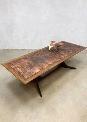 vintage design salontafel tafel table brutalist eclectic style