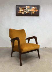 Deense vintage design lounge fauteuil