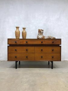 Midcentury modern chest of drawers cabinet ladekast minimalism