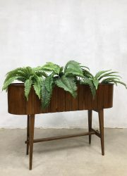 midcentury modern design plant stand fifties plantentafel