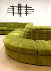 modulair vintage design sofa midcentury modern Lausser bank