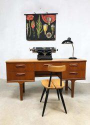 Mid-century vintage writing desk sideboard side table bureau Victor Wilkins G-plan