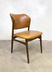 Deense vintage design eetkamerstoel stoel dinner chair Danish style