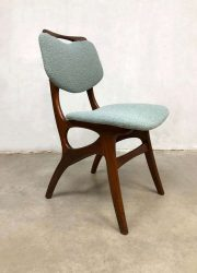 vintage retro teakhout eetkamerstoel dinner chair dining chair Pynock