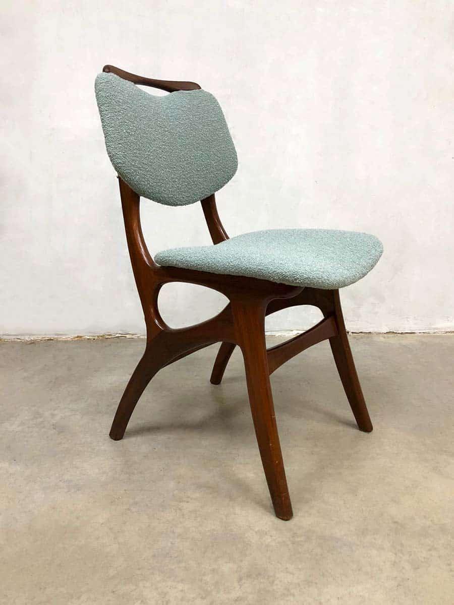 Vintage Dutch design dining chairs eetkamerstoelen Pynock
