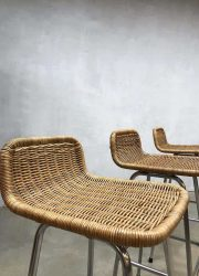 vintage design kruk barkruk Dirk van Sliedregt stool barstool