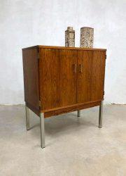 vintage design cabinet rosewood kast minimalistisch design