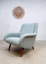 retro vintage jaren 60 stoel fauteuil cocktail poten design armhair