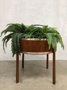 Vintage plant stand plantentafel plantenbak Scandinavian design