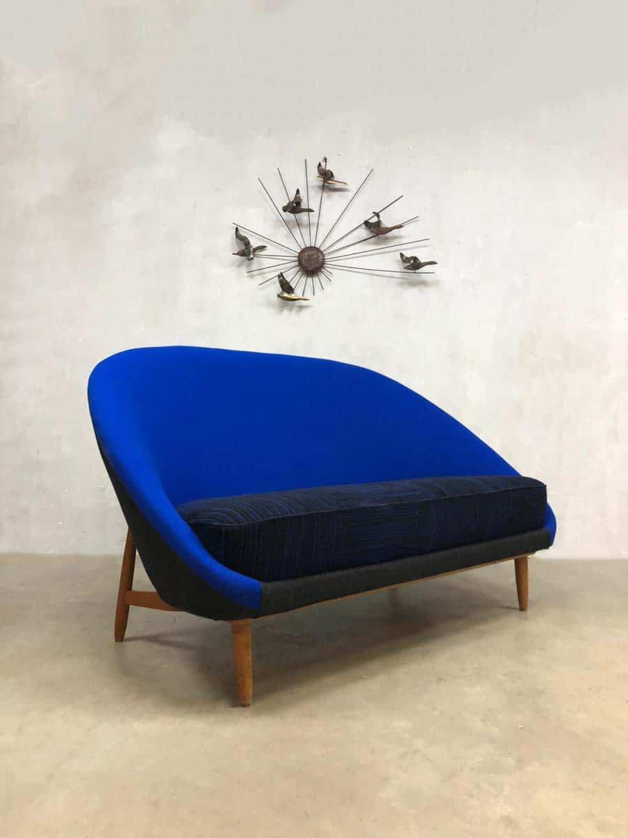 Design Bank Met Chaise Longue.Vintage Dutch Design Sofa Theo Ruth Artifort Bank Model 115