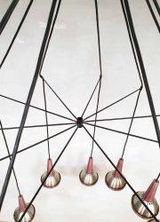 vintage deense hanglamp industrieel minimalism design lamp jaren 60