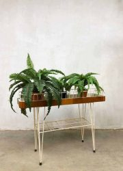 Vintage wire plant stand draad plantenstandaard plantenbak Nisse String