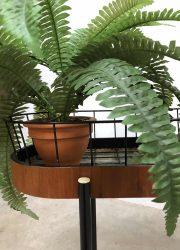 bohemian plantenstandaard industrieel retro vintage design deens plantstand Danish