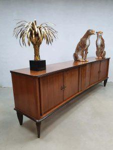 Vintage Italian Art Deco dressoir sideboard cabinet wandkast