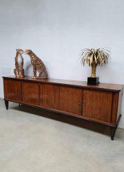 Midcentury modern dressoir sideboard cabinet kast vintage Art deco