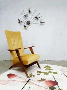 Midcentury modern Danish design armchair lounge fauteuils