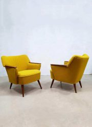 vintage design armchairs armchair easy chair fifties sixties retro