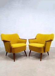 vintage retro cocktail stoel stoelen clubfauteuil jaren 50 60