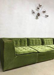 midcentury modern sofa Laauser style modular xxl bank