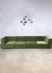 midcentury modern design sofa elementen bank Laauser style De Sede style germany