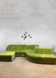 Vintage design modular sofa lounge bank modulaire elementen bank Laauser