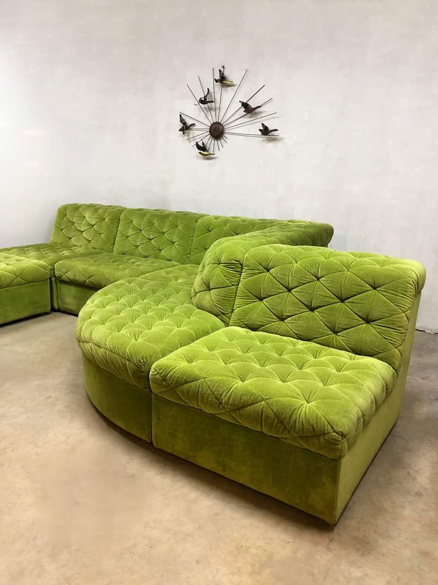 Vintage Design Modular Sofa Modulaire Elementen Bank Laauser
