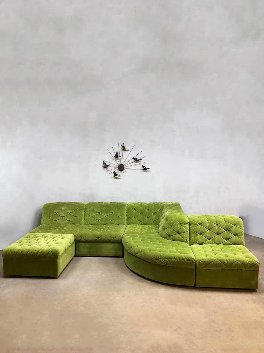 Design Bank Losse Elementen.Vintage Design Modular Sofa Modulaire Elementen Bank Laauser