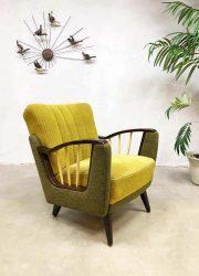 Midcentury modern Danish armchair lounge fauteuil Art Deco
