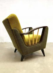 mid century Danish design armchair lounge fauteuil Art Deco
