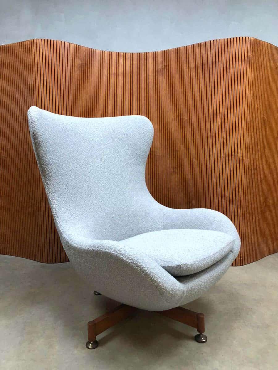 Wondrous Midcentury Modern Design Wingback Chair Egg Chair Swivel Short Links Chair Design For Home Short Linksinfo